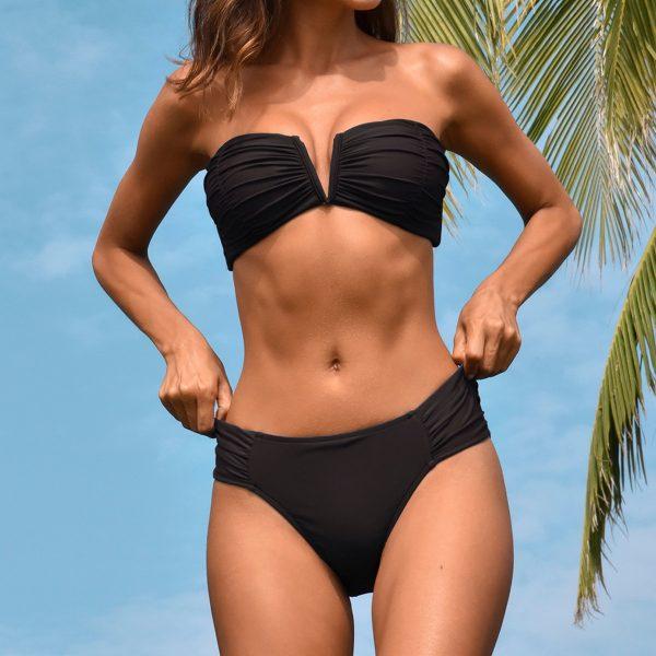 Push Up High Waist Swimsuit  Bikini Set  3