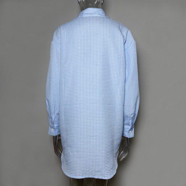 Turn-down Collar Button Up Shirts 5