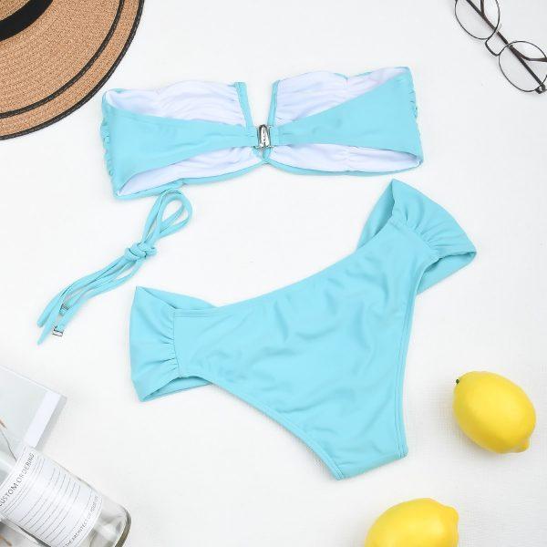 Push Up High Waist Swimsuit  Bikini Set  5